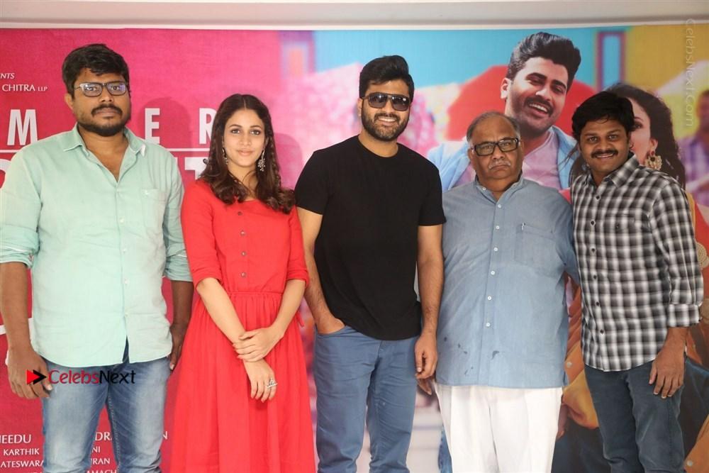 Radha Telugu Movie Success Meet Stills