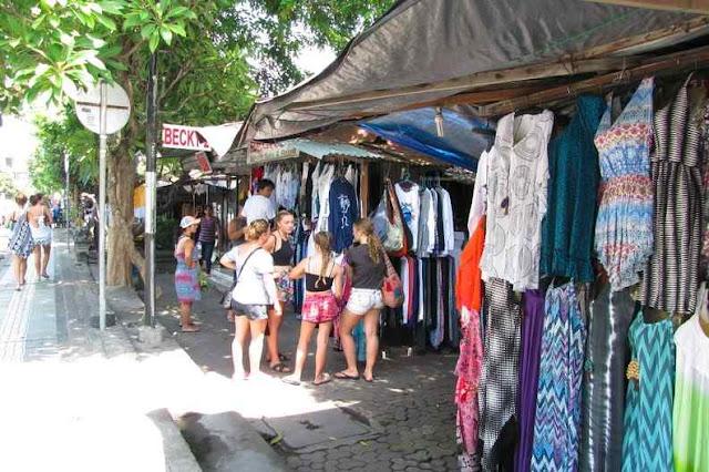 Tempat Belanja Pasar Pasar Seni Kuta