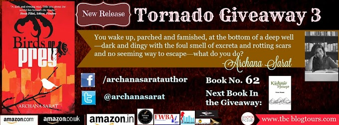 Tornado Giveaway 3: Book No. 62 Birds of Prey by Archana Sarat