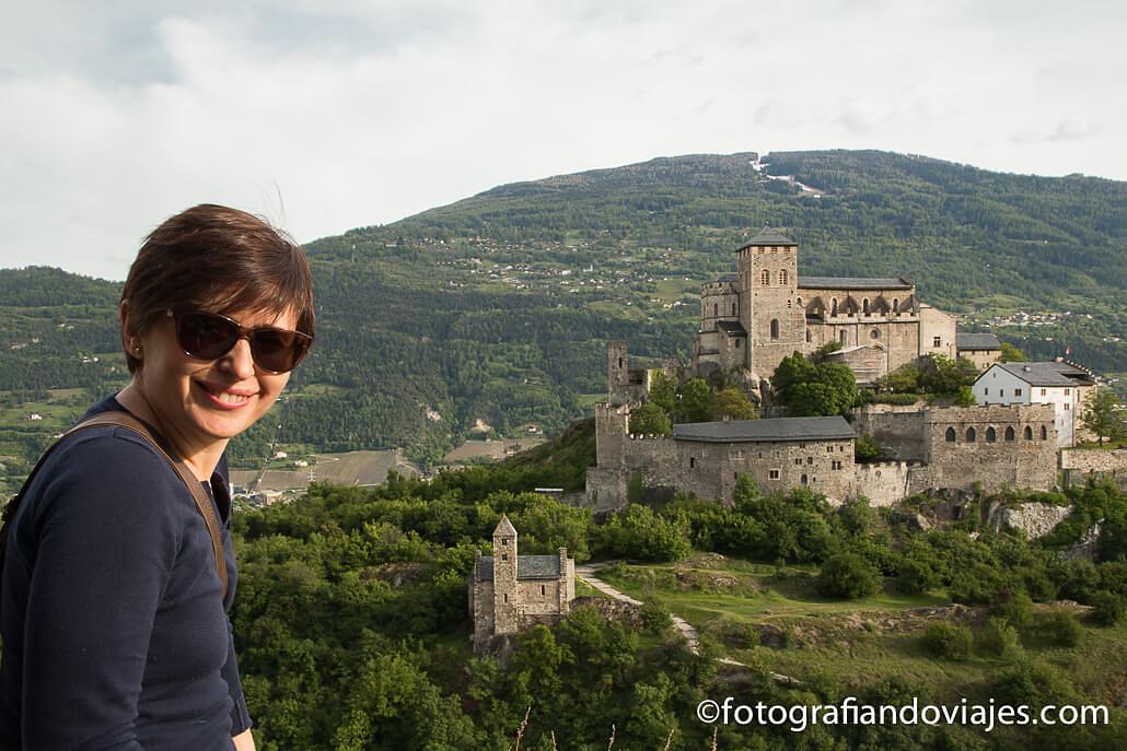 Basilica fortaleza de Valere Sion Suiza