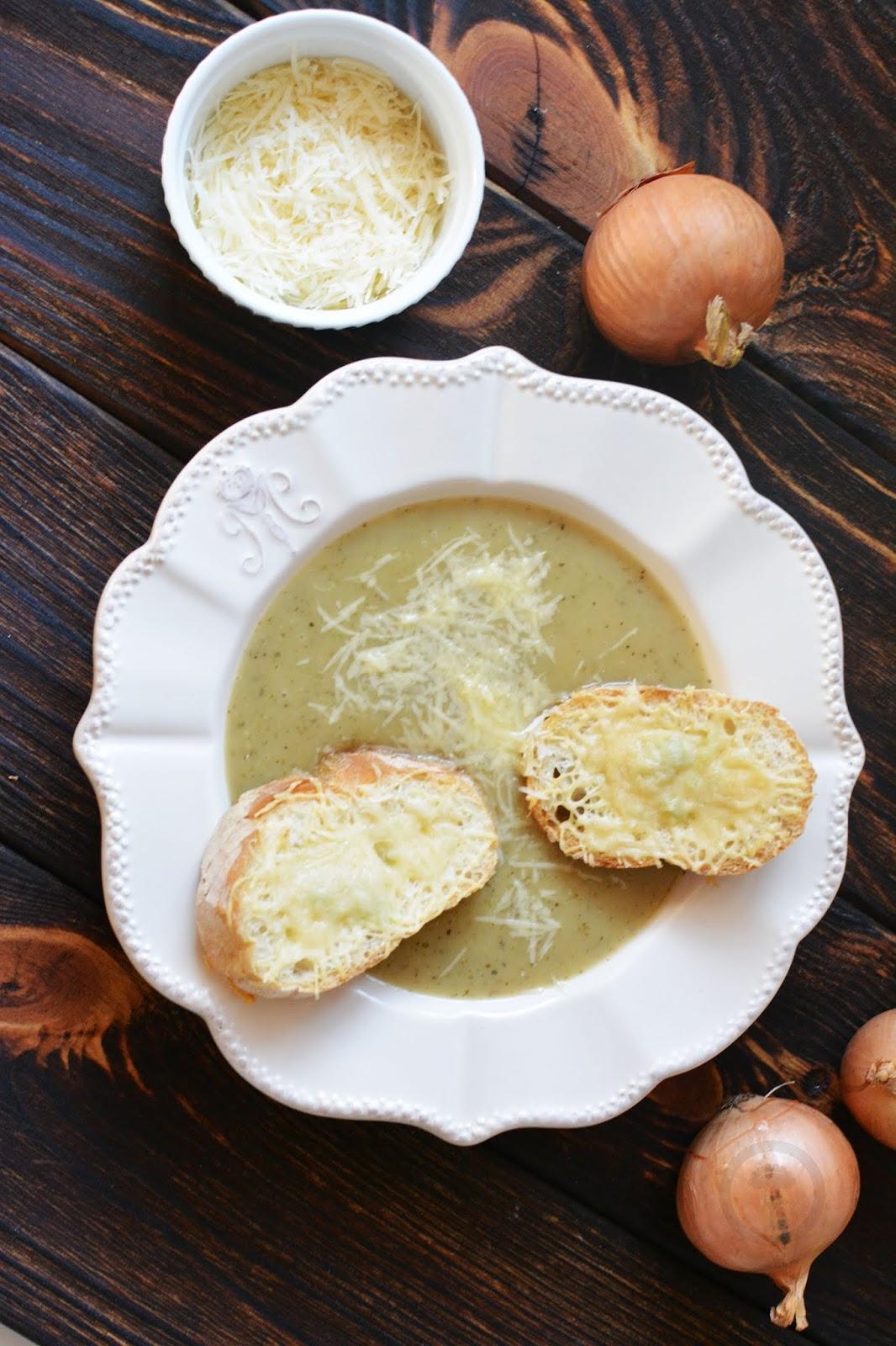 zupa cebulowa bez wina