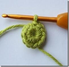 Кольцо амигуруми