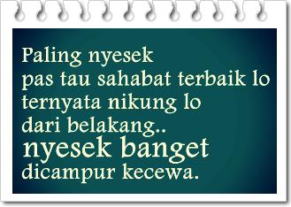 Gambar Foto DP BBM Kata Sindiran buat Sahabat