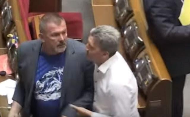 У Раді побилися нардепи через скандальні висловлювання Мураєва про Сенцова