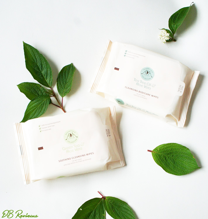 AA Skincare  Green Tea & Aloe Vera Cleansing Wipes