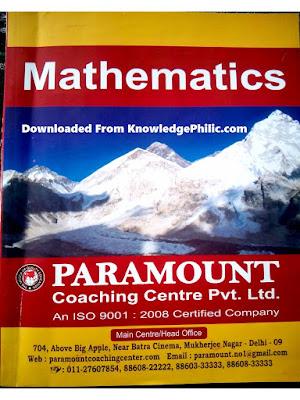 Download Free Paramount Maths practice ebook