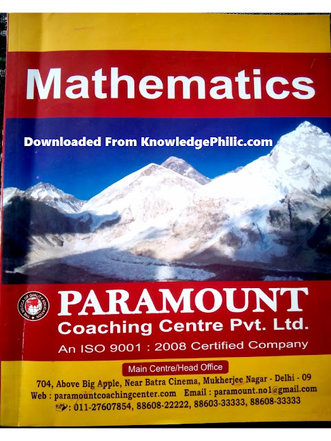 Download Paramount Maths practice ebook free