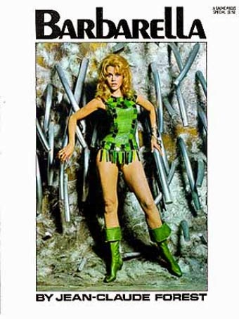 barbarella volume Jean-Claude Forest