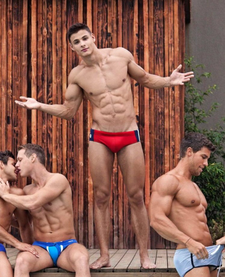 kenneth in the (212) jump: Speedo Sunday (continued)