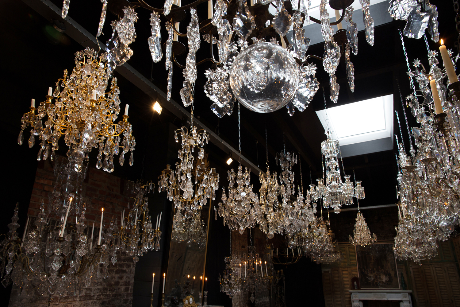 Epic Collection of chandeliers of Pascal Mestrom Chandeliers Maastricht u The Netherlands Image source here
