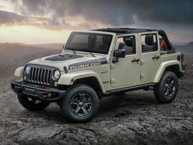 New Wrangler Rubicon Recon For Off-Road Guys