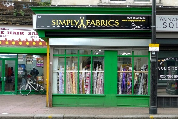 Cloth stores in london