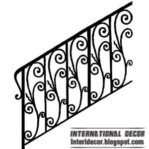 Iron Stairs Railings Designs Iron Staircase Railings Designs   Stairs Railing Designs In Iron   Rot Iron Staircase   Vertical   Stairway   Grill   Modern