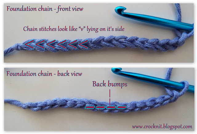 how to crochet, crochet in back bump, free crochet patterns, tutorial,