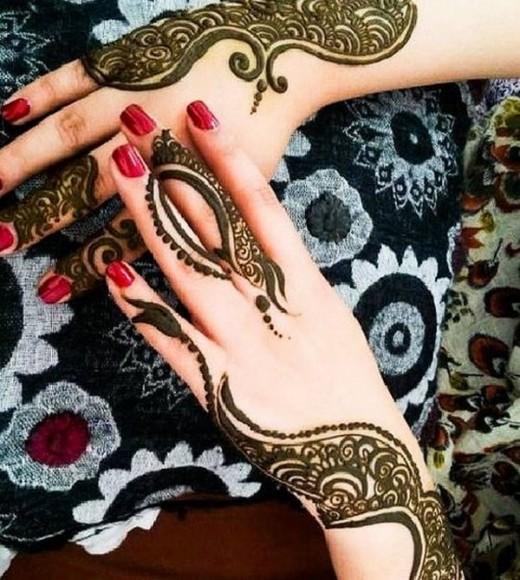 Eid Mehndi Designs For Hands for Eid Festival