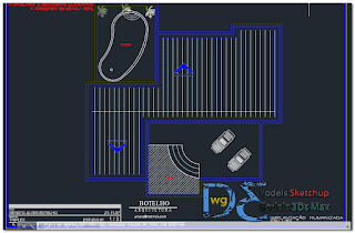 Triplex villa Final Project in AutoCAD