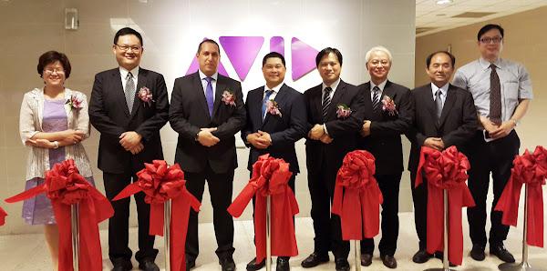 AVID台灣研發中心開幕式