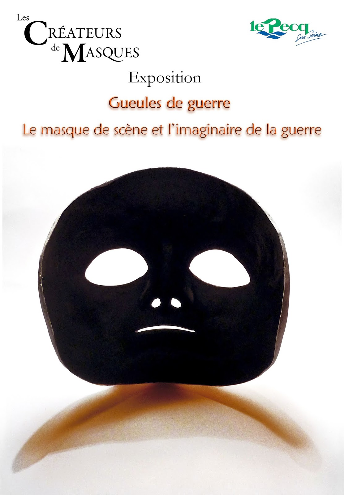 Quai Maurice Berteaux 78230 Le Pecq alaric chagnard - sculpteur de masques: 2018 - novembre