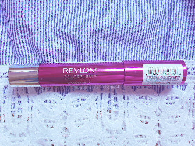 Revlon ColorBurst Lacquer Balm recenzia
