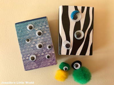 Matchbox pet monsters craft