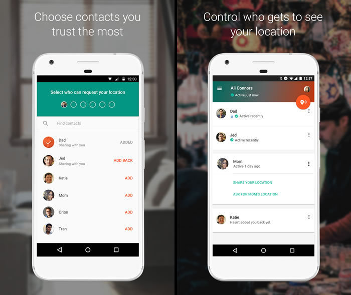 Google Launches 'Trusted Contacts' Location Sharing App On IOS