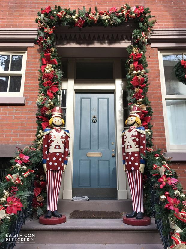 Decoracion de Navidad en Nueva York que ver y hacer casas West Village