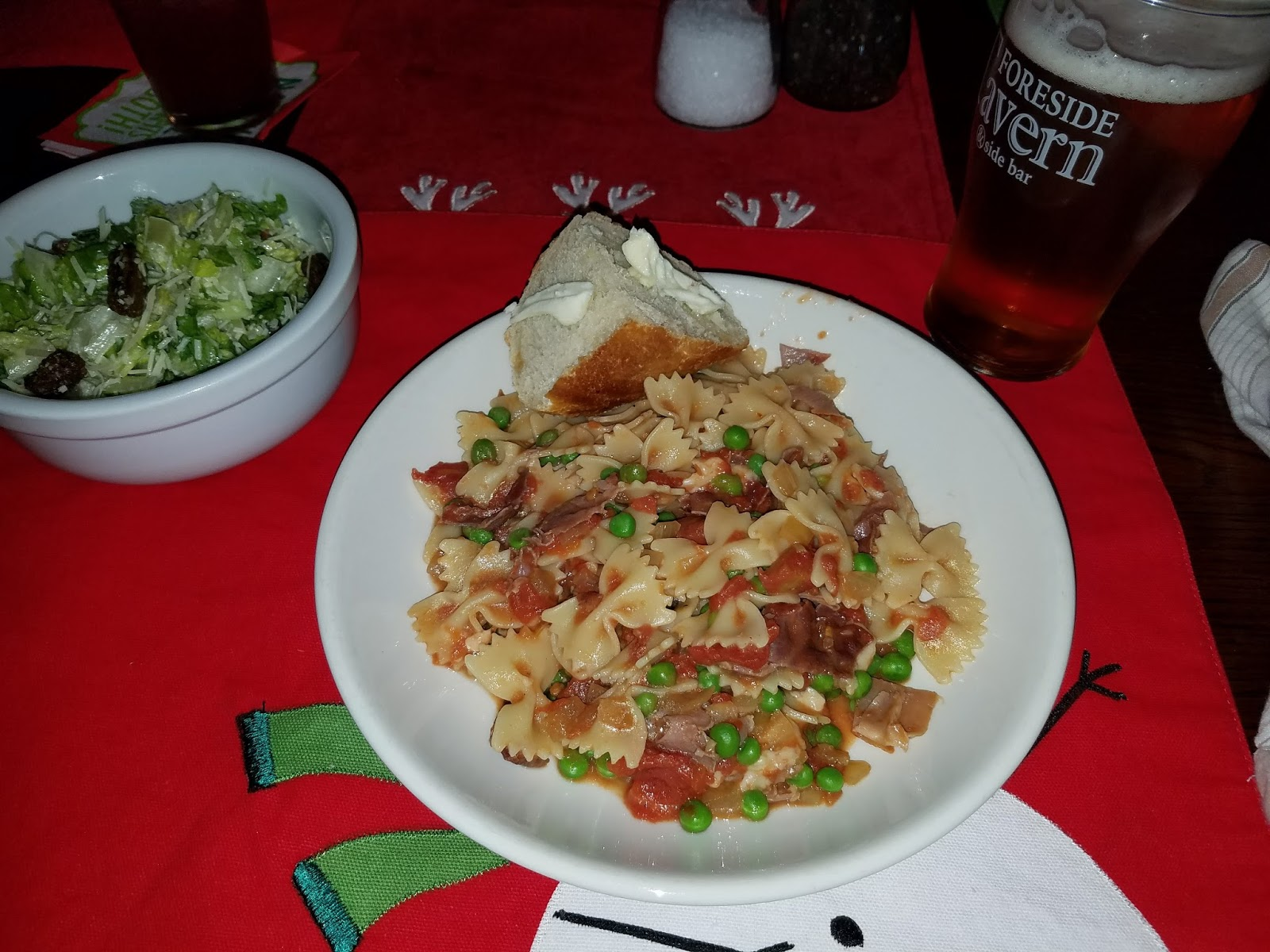 Meal Nineteen: Farfalle with Crispy Prosciutto and Peas