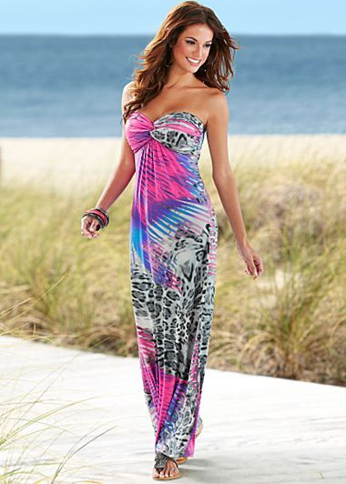 Loving the colors on this maxi