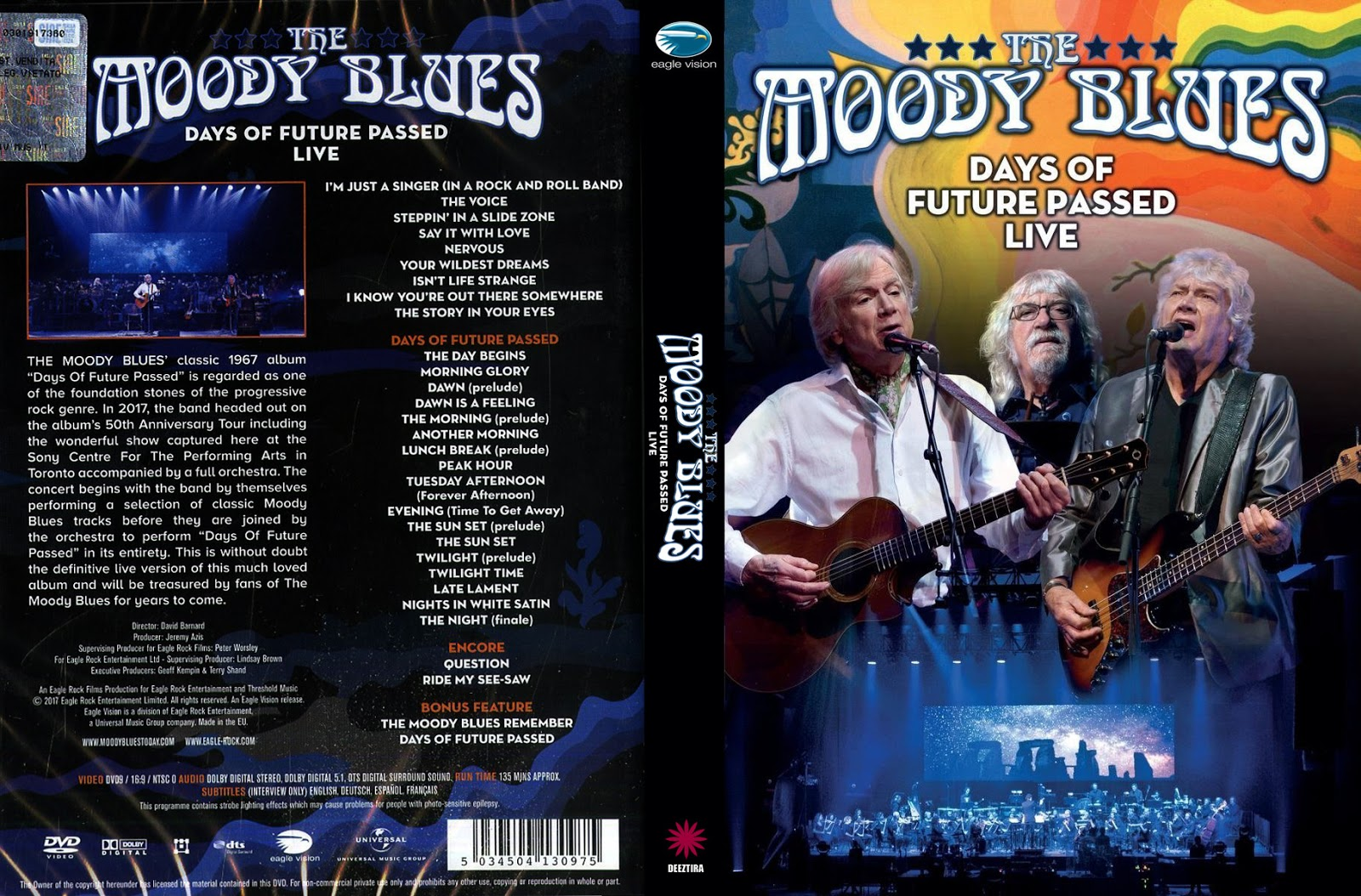 YOUDISCOLL: Moody Blues - Days of Future Passed Live (2017)