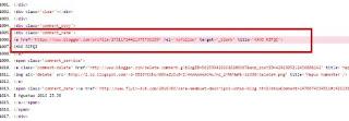 Letak pasti link error