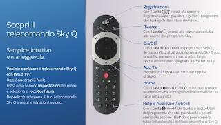telecomando sky q
