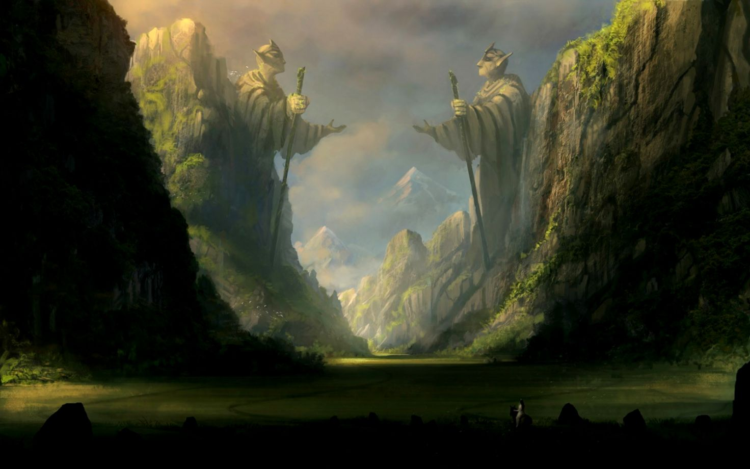 Fantasy Mountain Art