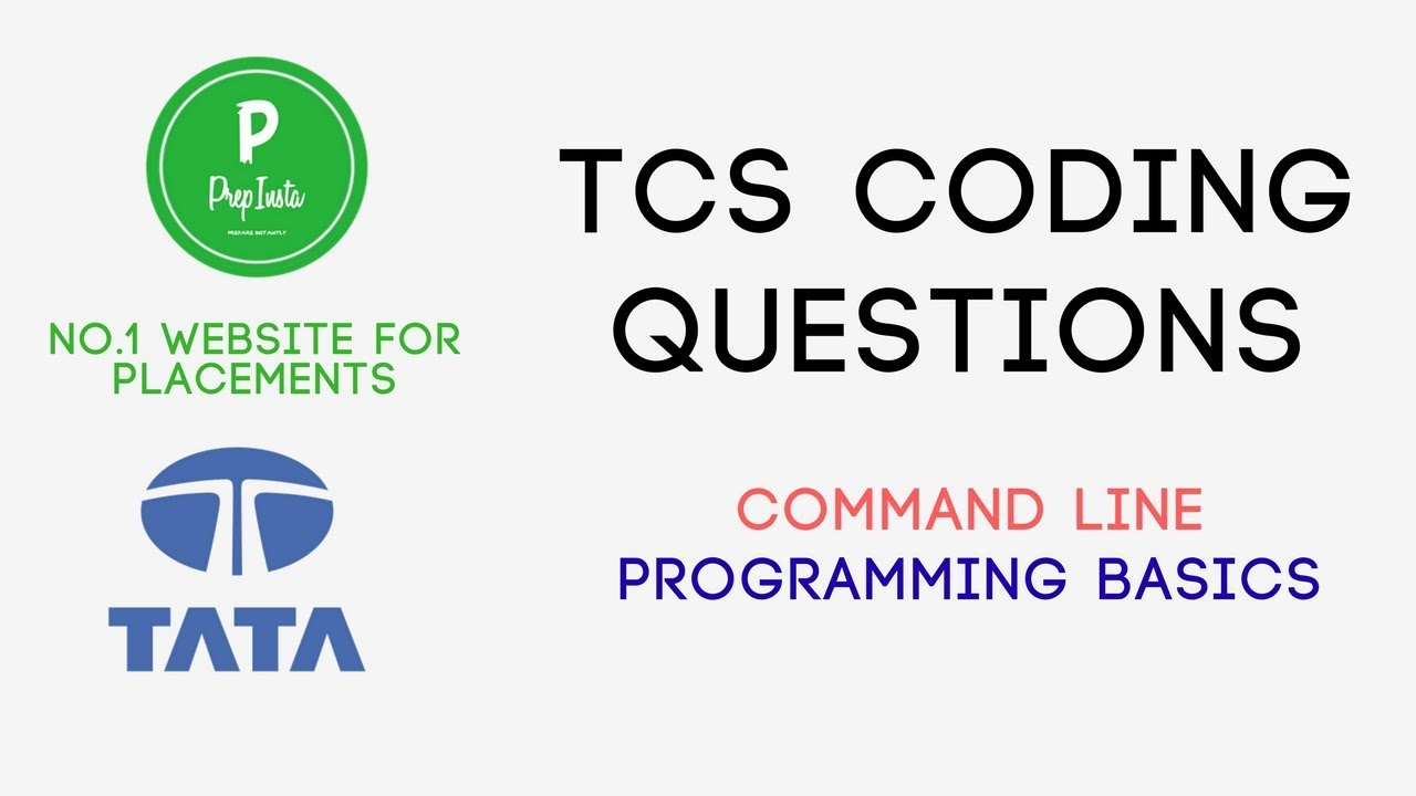 Answers] TCS Ninja Mock test questions – Coding section [PDF