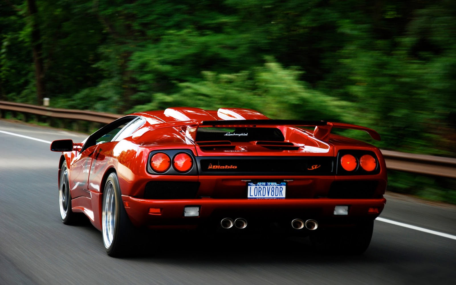 HD Cars Wallpapers: Lamborghini Diablo