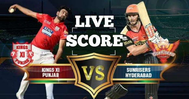 IPL 2018 Match 16 KXIP vs SRH Live Score and Full Scorecard