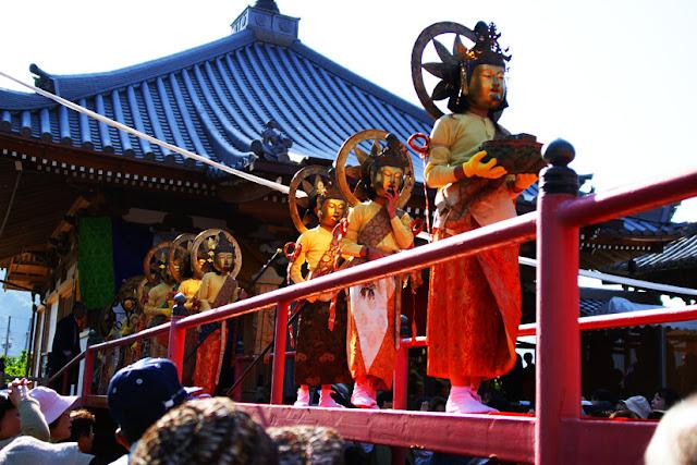 Raigou-e-siki at Tokushouji Temple, Arida City, Wakayama