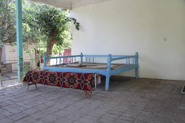 Ouzbékistan, Samarcande, tapchane, tapshan,© L. Gigout, 2012