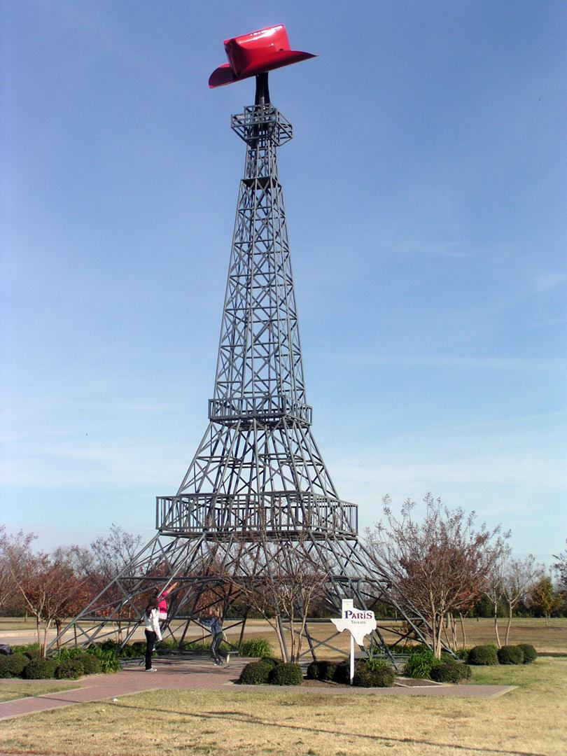 The Eiffel Tower Replica in Paris of Texas