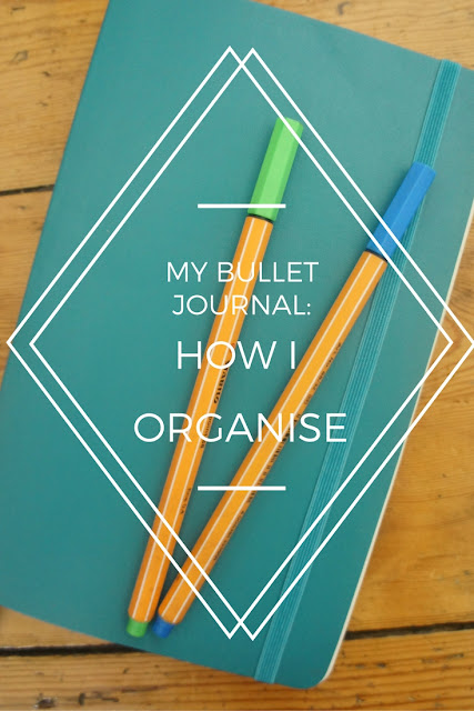 Bullet Journal, Beauty and Brownies, Organisation, Blog Post, Ideas, Pinterest