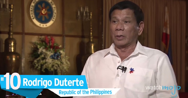 WATCH: Top 10 Worst Dictators, President Duterte Top10 sa Listahan.