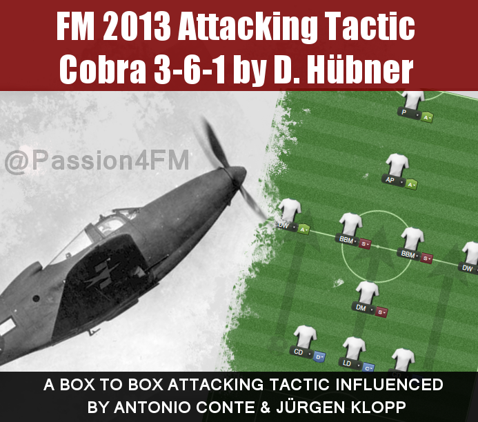 FM13 Best Attacking Tactic Cobra 3-6-1 • Passion4FM