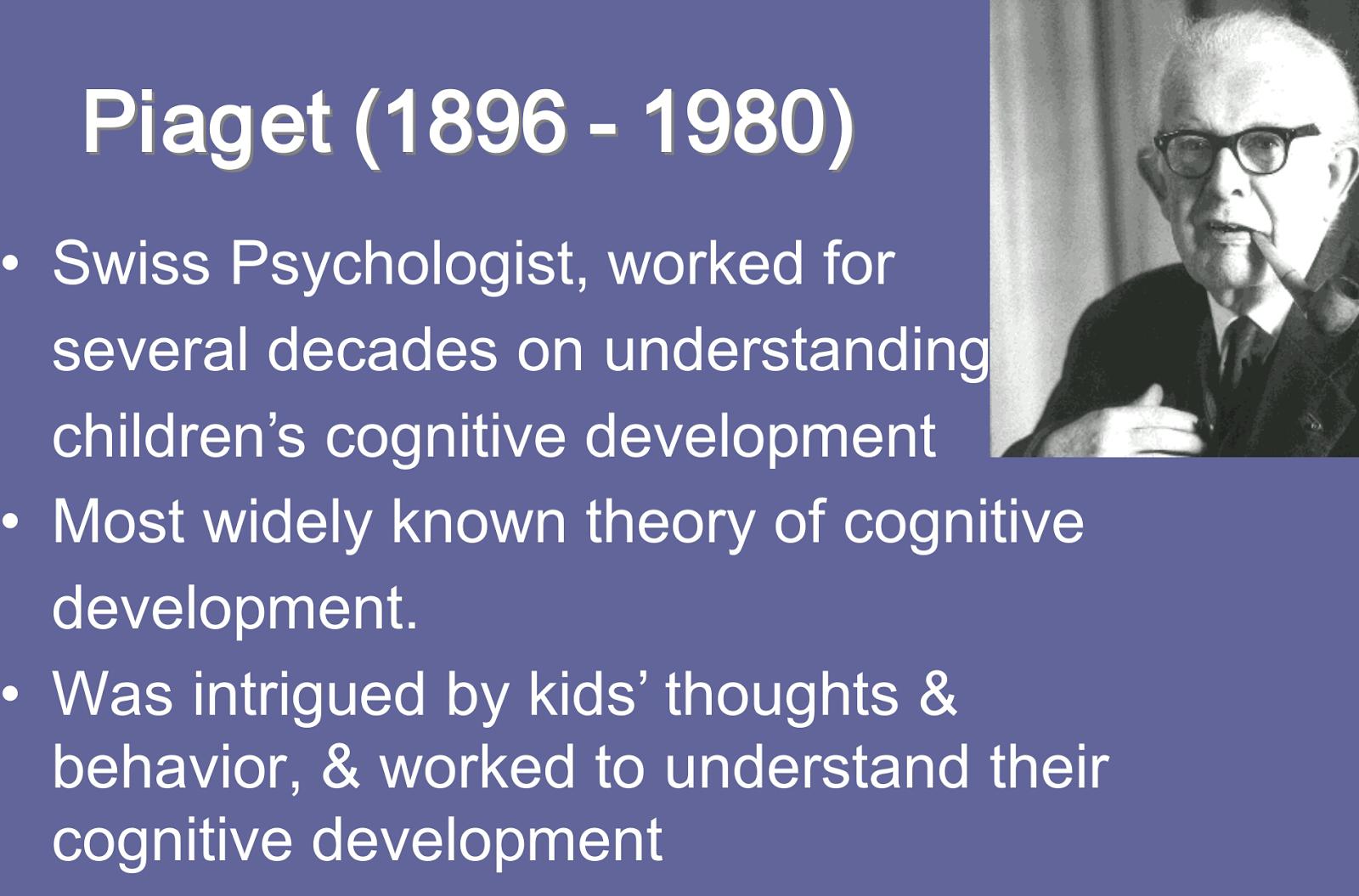 human development  piaget u2019s theory of cognitive