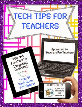 http://www.teacherspayteachers.com/Product/Tech-Tips-for-Teachers-An-Ebook-1186548
