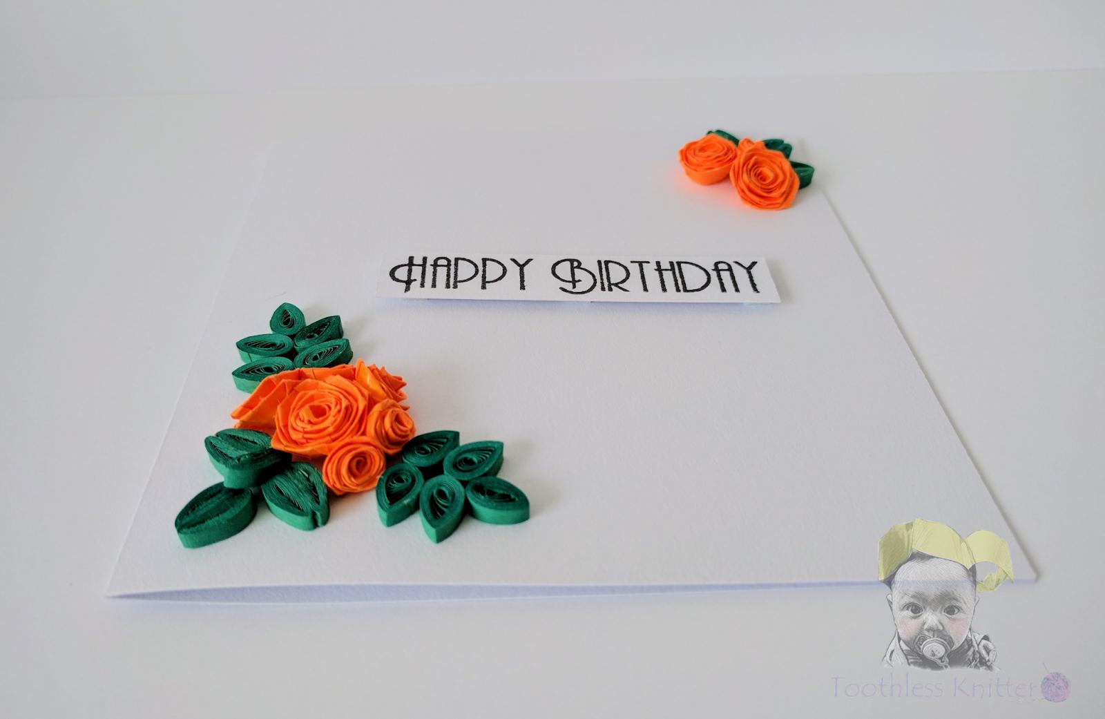Birthday Roses / Urodzinowe Róże