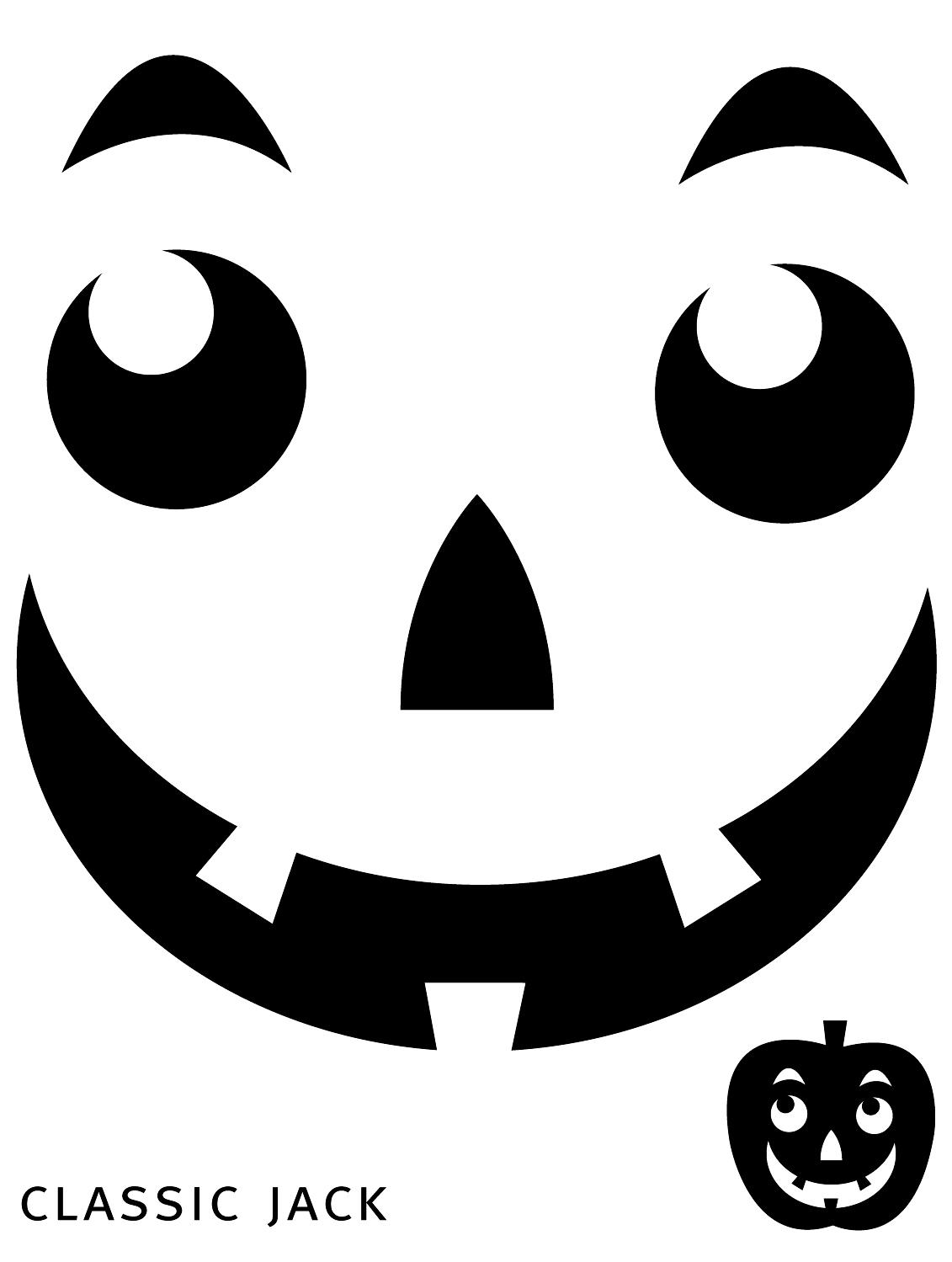 Jack O Lantern Faces Designs