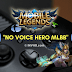 Suara Hero Mobile Legends Hilang - Berikut Cara Atasinya