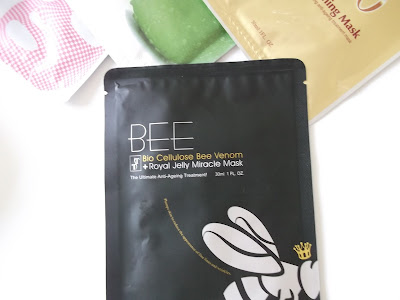 Timeless Truth Bee Venom mask review www.thelavenderbarn.blogspot.co.uk