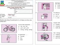 Next Download Latihan Soal UAS KTSP Kelas 1 Semester 2 Lengkap