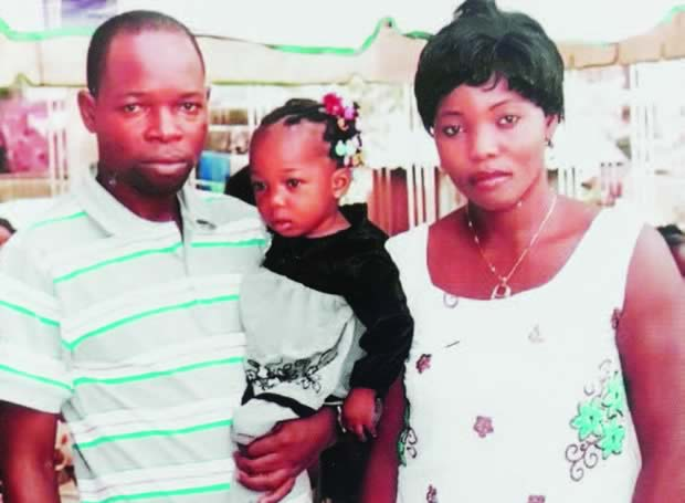 My wife was murdered carrying pregnancy of son she's been praying to have — Families of sergeant killed in Edo breaks silence