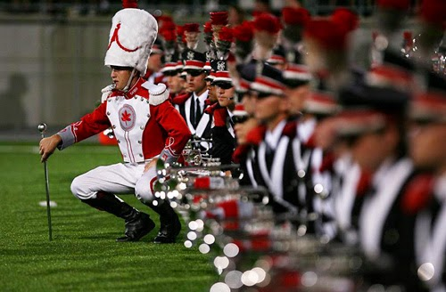 OSU Marching Band Squad Leaders